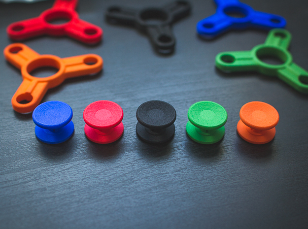 Push in Bearing Caps for Fidget Spinner - Set