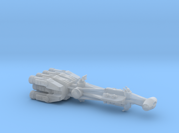 Rebellious Spaceship, 1:2700