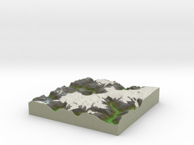 Terrafab generated model Wed Feb 01 2017 10:27:24  in Full Color Sandstone