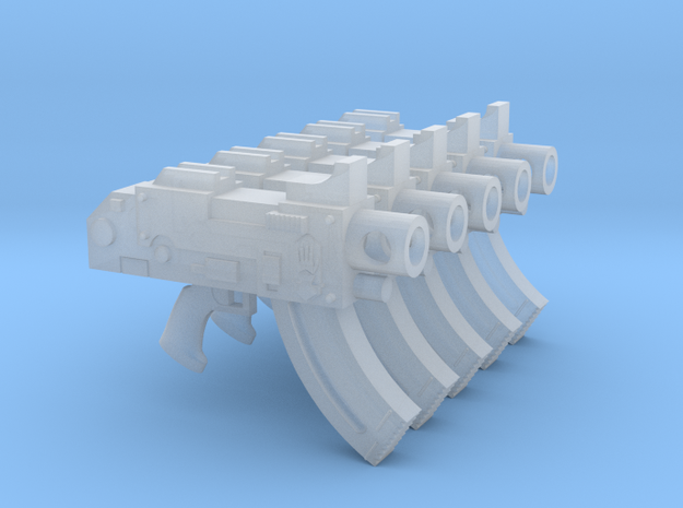 Steel Handed Warriors Mk87 Thunderbolt Pistols in Smooth Fine Detail Plastic