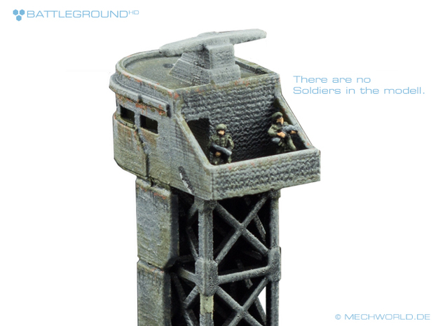 Watchtower - BATTLEGROUND HD 3d printed