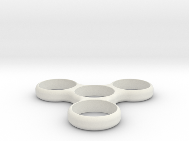 Simple Spinner in White Strong & Flexible