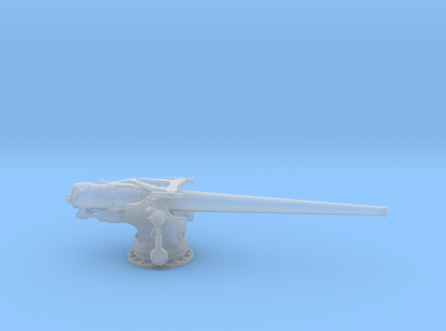 1/160 USN 5 inch/ 51 Deck Gun in Frosted Ultra Detail