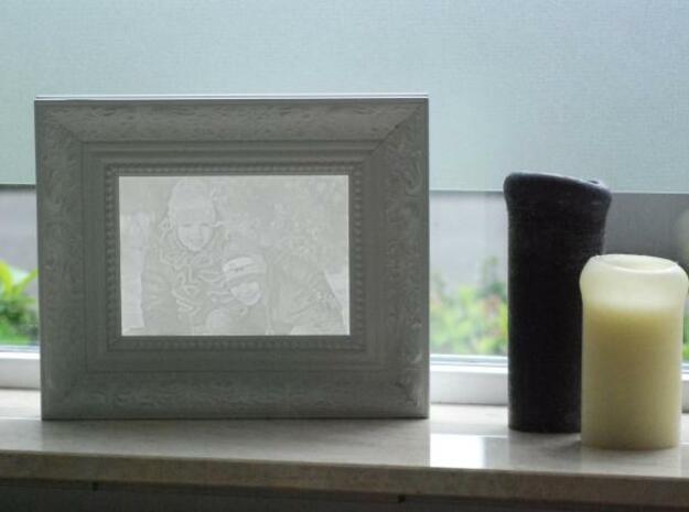 Robin&Sebas groot 3d printed Framed it realy rocks