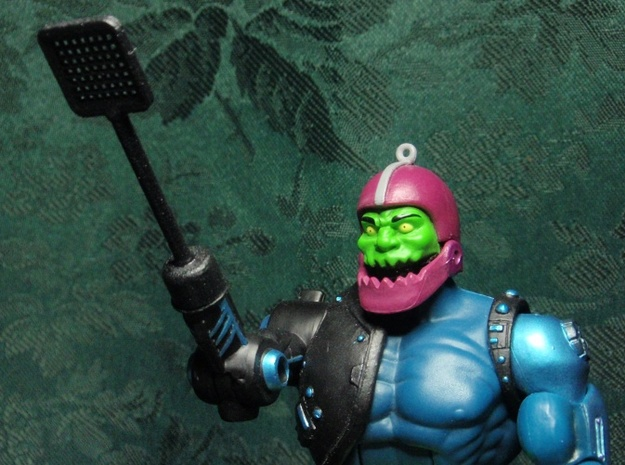 Trap Jaw's Accessories - 6 pack (2014) 3d printed Painted (Figure not included)