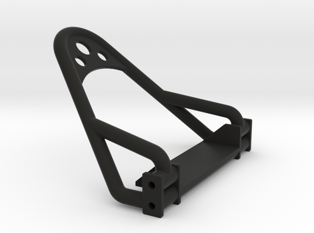 1/24 Crawler Bumper (4 link frame) in Black Strong & Flexible