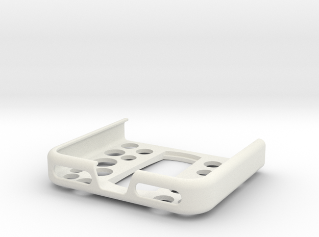 Iphone 7 Tech21case holder for maps and more in White Natural Versatile Plastic