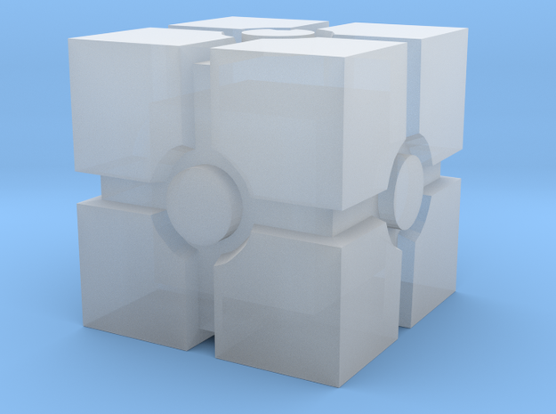 Crate in Smooth Fine Detail Plastic