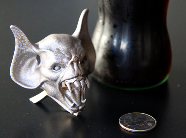 Vampire Head Bottle Opener (stand)