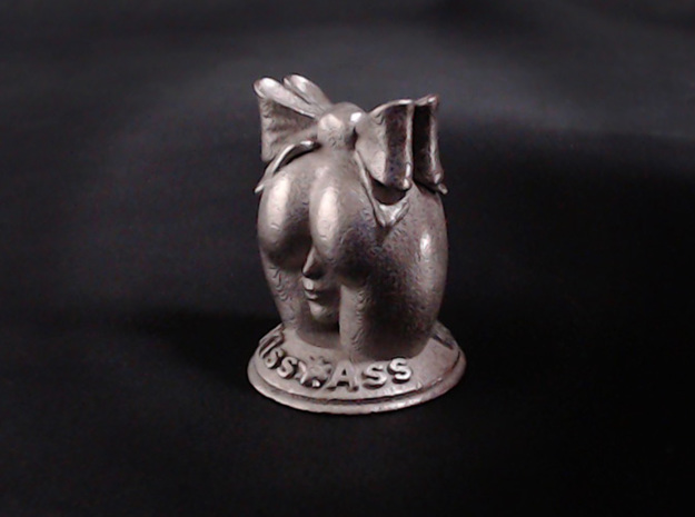 Kiss Ass  in Polished Nickel Steel