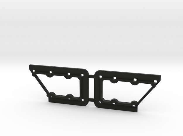Rivarossi FM C-Liner Window Grille Frame in Black Natural Versatile Plastic