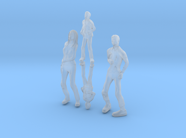 Zombie family in Smooth Fine Detail Plastic