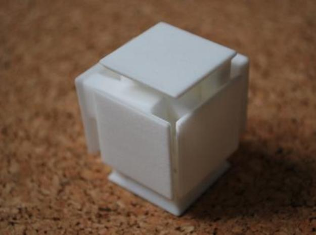 Steady State Cube 3d printed Step 4