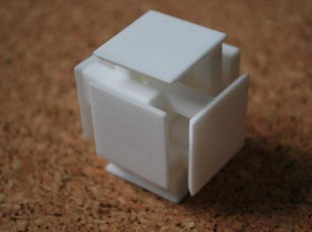 Steady State Cube 3d printed Step 5