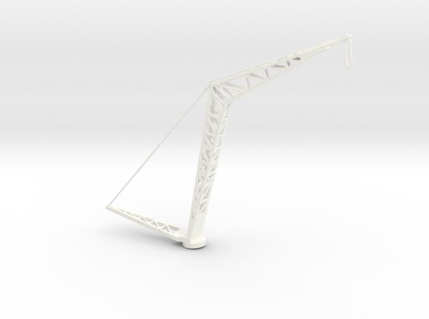 1/96 Scale USN Light Cruiser Crane in White Processed Versatile Plastic