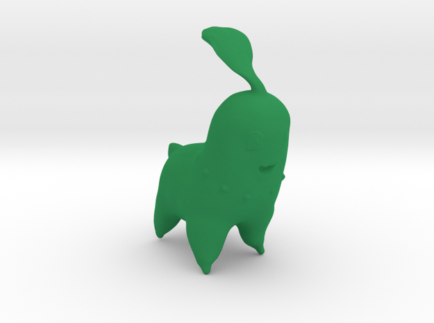 Chikorita in Green Processed Versatile Plastic