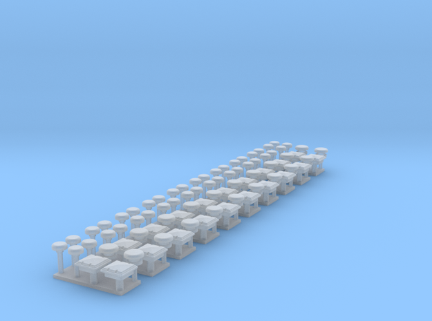 Zubehoer AB-Dekon HH 10x.stl in Smooth Fine Detail Plastic
