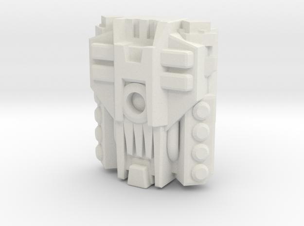 Mega PowerMaster Engine (Titans Return) in White Strong & Flexible