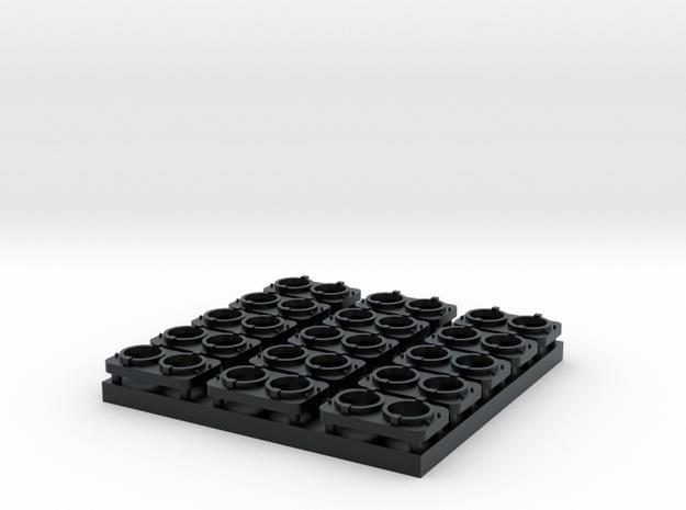 Nose Light - Sealed Dual Beam (N/TT) in Black Hi-Def Acrylate: 1:160 - N