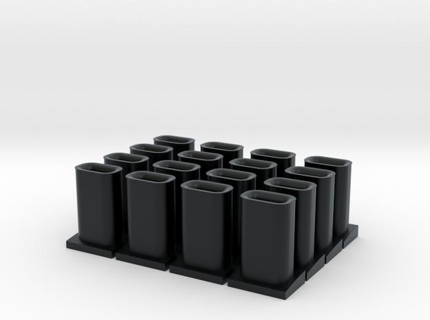 Exhaust Stacks - Santa Fe Alco Switchers (N/HO)
