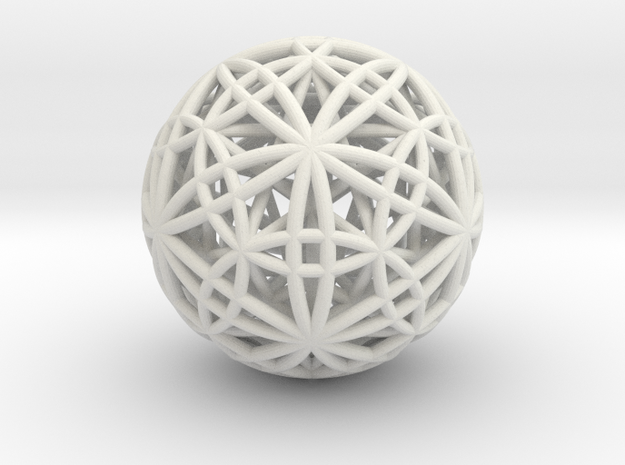 IcosaDodecasphere w/ Icosahedron and Star Dodeca