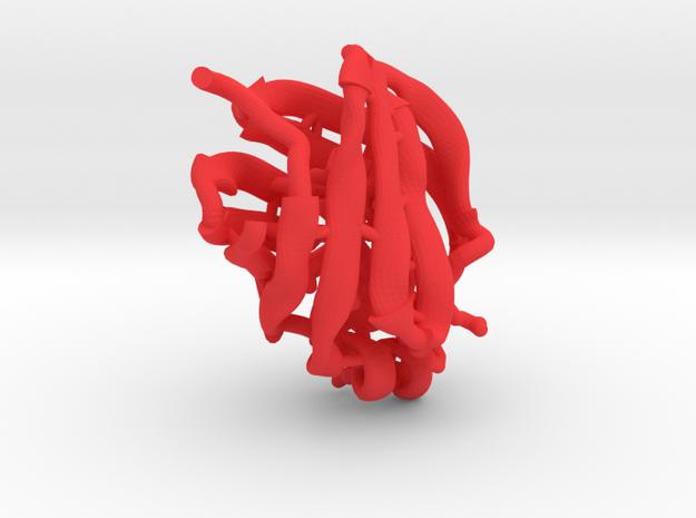 9 Soham Mihiravi CRBPII in Red Processed Versatile Plastic