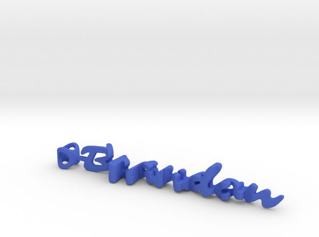 Twine Brandon/Mason in Blue Processed Versatile Plastic