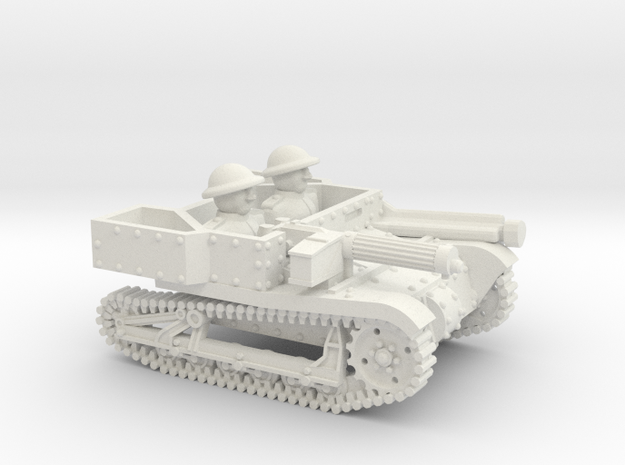 Carden-Loyd Carrier MkVI 15mm in White Strong & Flexible
