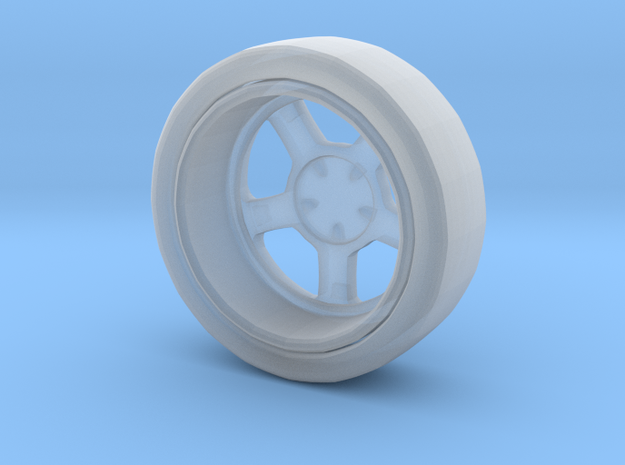 Mag wheel drink coaster in Frosted Ultra Detail