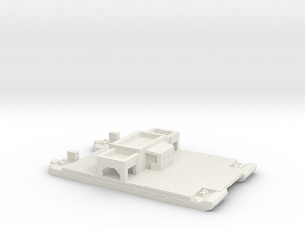 1/285 Siebel Ferry 40 Transport in White Strong & Flexible