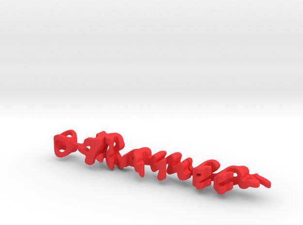 Twine Romeo/Juliette in Red Processed Versatile Plastic