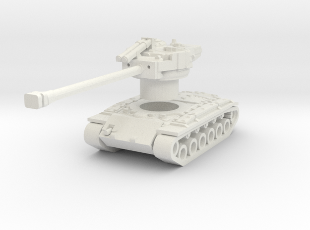 Superpershing with Rotatable turret in White Natural Versatile Plastic