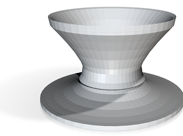 top hat vase 3 3d printed