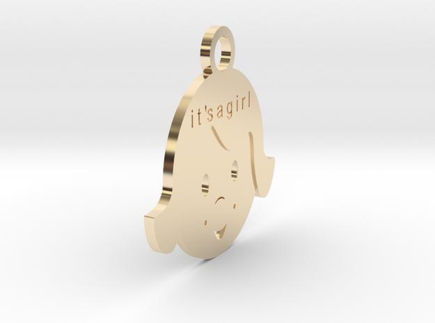 Bimba  in 14k Gold Plated Brass