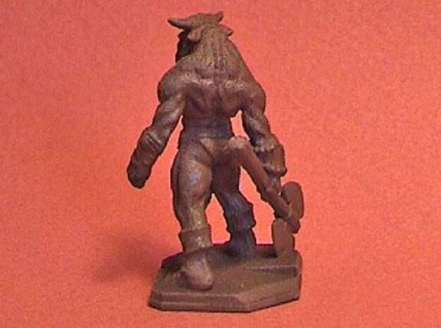 Minotaur miniature 39mm 3d printed Description