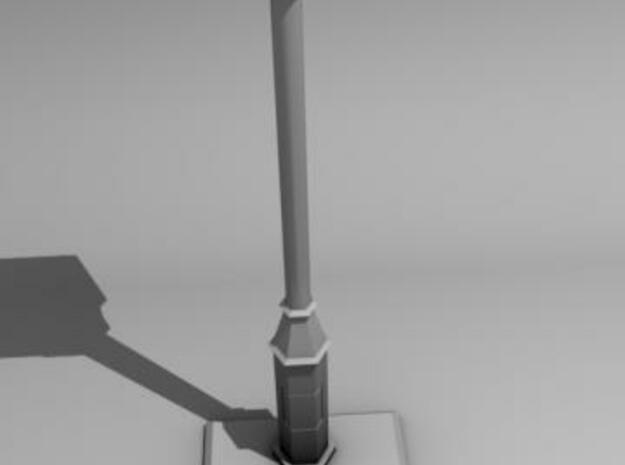 Old lightpost 3d printed Render