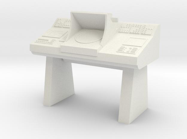 Transporter Console (Star Trek Classic) in White Natural Versatile Plastic: 1:30
