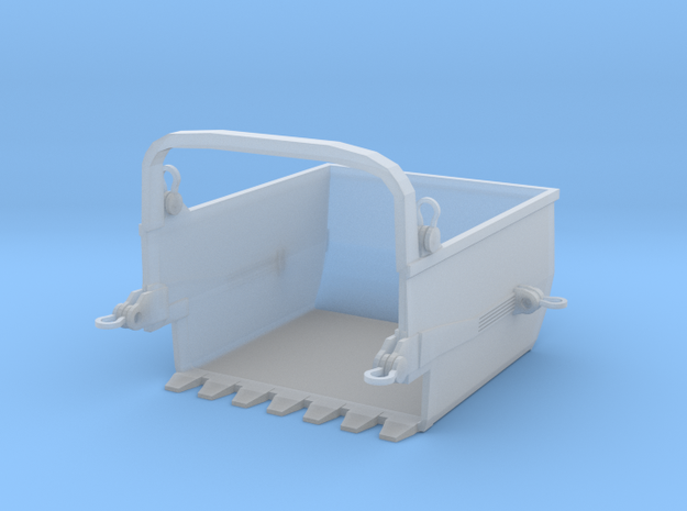 Big Muskie Dredge Bucket HO Scale in Smooth Fine Detail Plastic