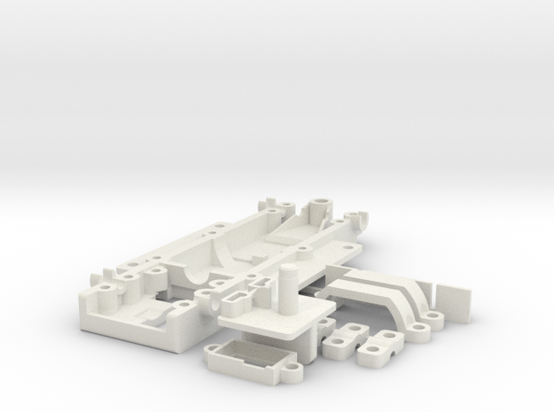 GRC KarmanGhia SolitudeTom in White Natural Versatile Plastic