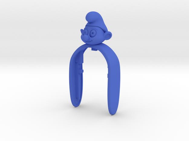 FUNNY KEYFOB SMF  in Blue Processed Versatile Plastic