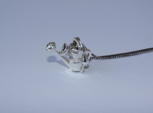 Drip Drop Nursery in Polished Silver
