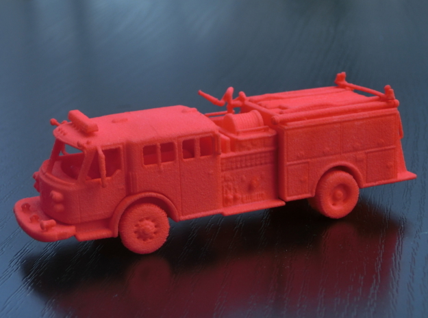 ALF Century 2000 1:64 in Red Processed Versatile Plastic
