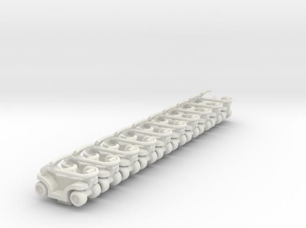 Quadrunner in White Strong & Flexible