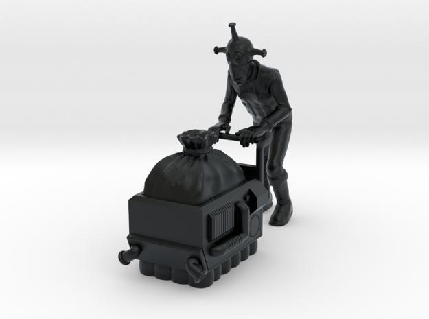 Zeks and drugs -Zeks and Nyborg Dispenser 1/48 in Black Hi-Def Acrylate