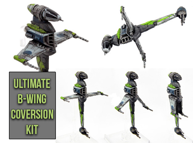 Magnet preset Ultimate B-wing conversion kit