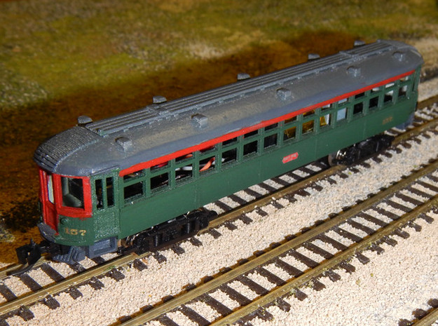 CNSM 150 - 164 series coach in Smooth Fine Detail Plastic