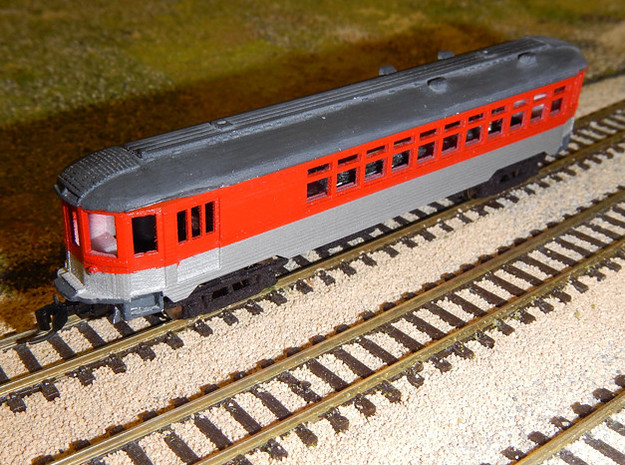 CNSM 251 Silverliner Combine in Frosted Ultra Detail