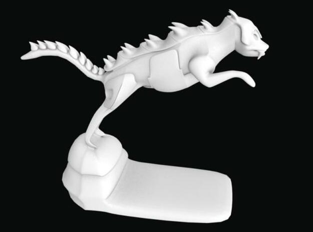 Gatordog 5 times 3d printed Description