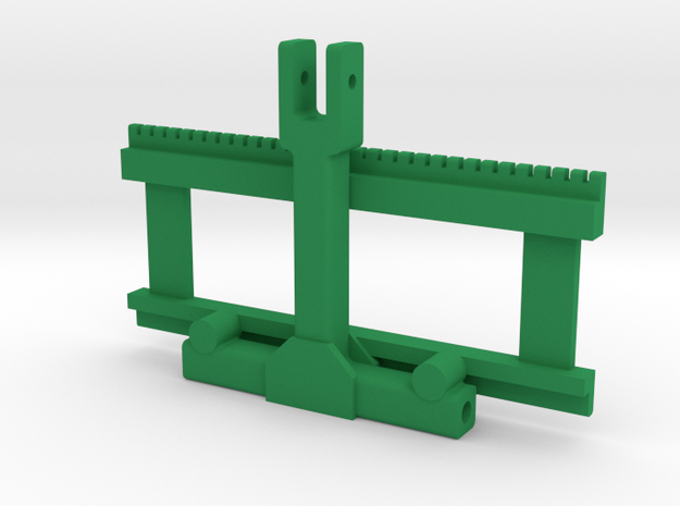 3 Punkt Palettengabel in Green Processed Versatile Plastic