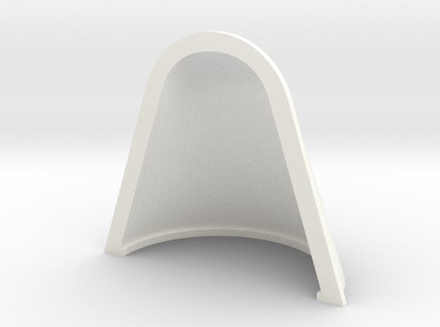 Whirlwind Vent  17 X 14 (23x14) in White Processed Versatile Plastic